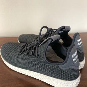 Adidas Pharrell x Tennis Hu Carbon Sneakers